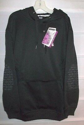 Women's Blackhawk CCW Tech Hoodie Black Pullover Sweatshirt Medium  NWTS! Blackhawk Pullover Hoodie