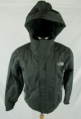 The North Face Mens Small S Rain Coat Windbreaker Hy Vent 2.5L Hood ZIP Vented