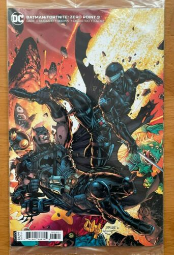 BATMAN FORTNITE ZERO POINT #3 Jim Lee Variant DC NM