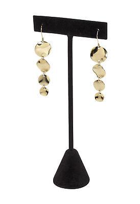 50 Earring Black Velvet T-bar Displays 2 X 5 T-bar Showcase Pierced