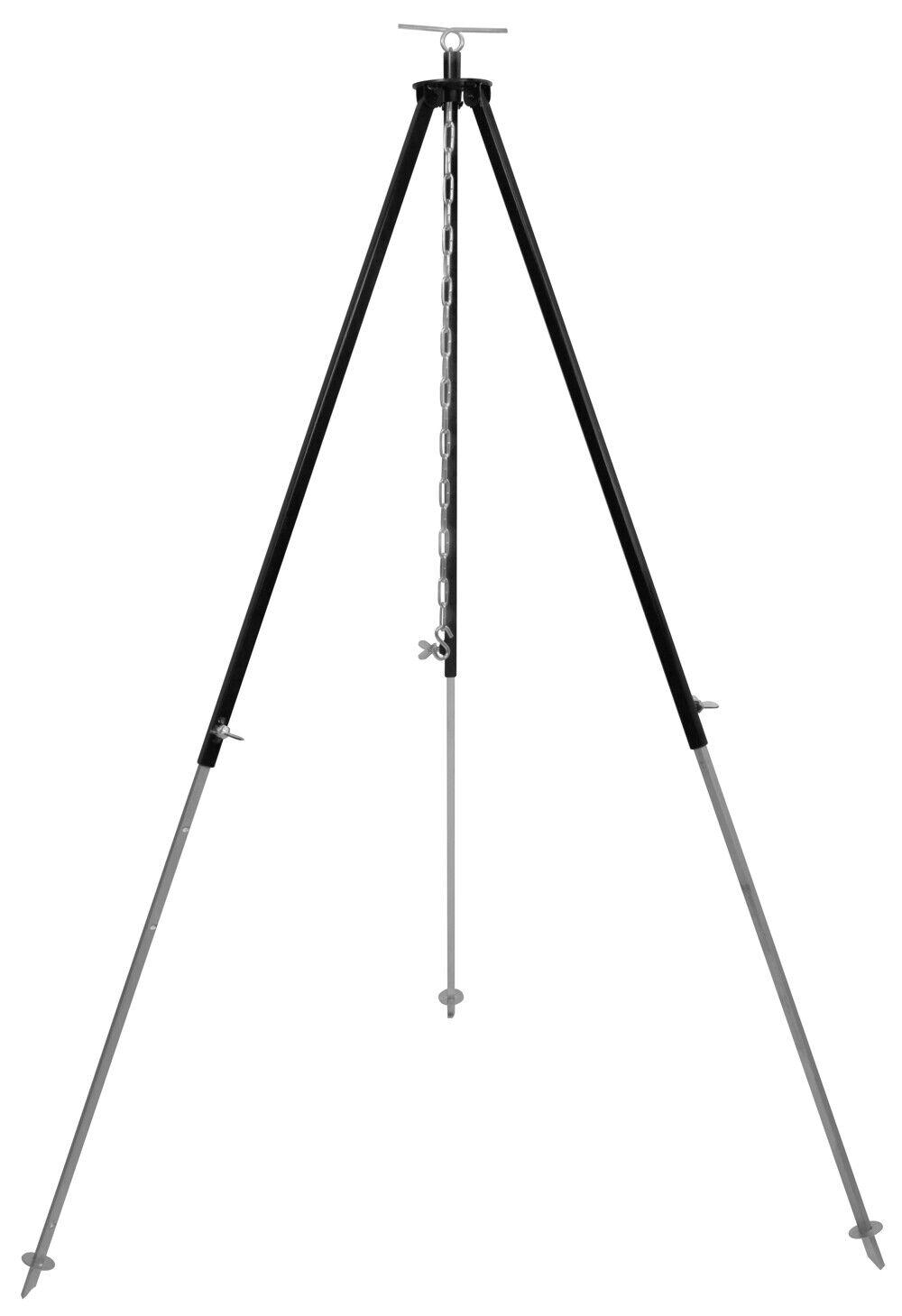 Gulaschkessel Dreibein für Schwenkgrill, Grill, Feuertopf, Dutch Oven 180 cm