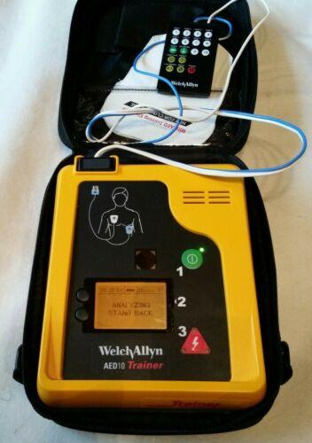 Welch Allyn AED10 AED Defibrillator Trainer Unit in Bag