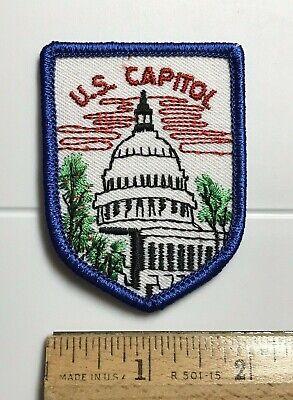 US Capitol Building Dome Washington DC Souvenir Embroidered Patch -