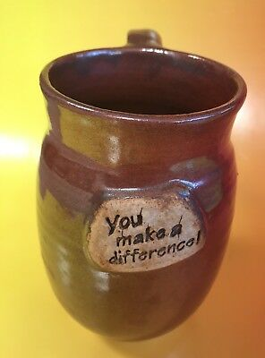 Coffee Mug You Make A Difference Thank You Employee Gift Appreciation Pottery - Employee Appreciation Gifts