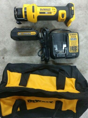 DeWalt 20V Max Drywall Cutout Tool Kit w/ Battery & Charger Model# DCS551