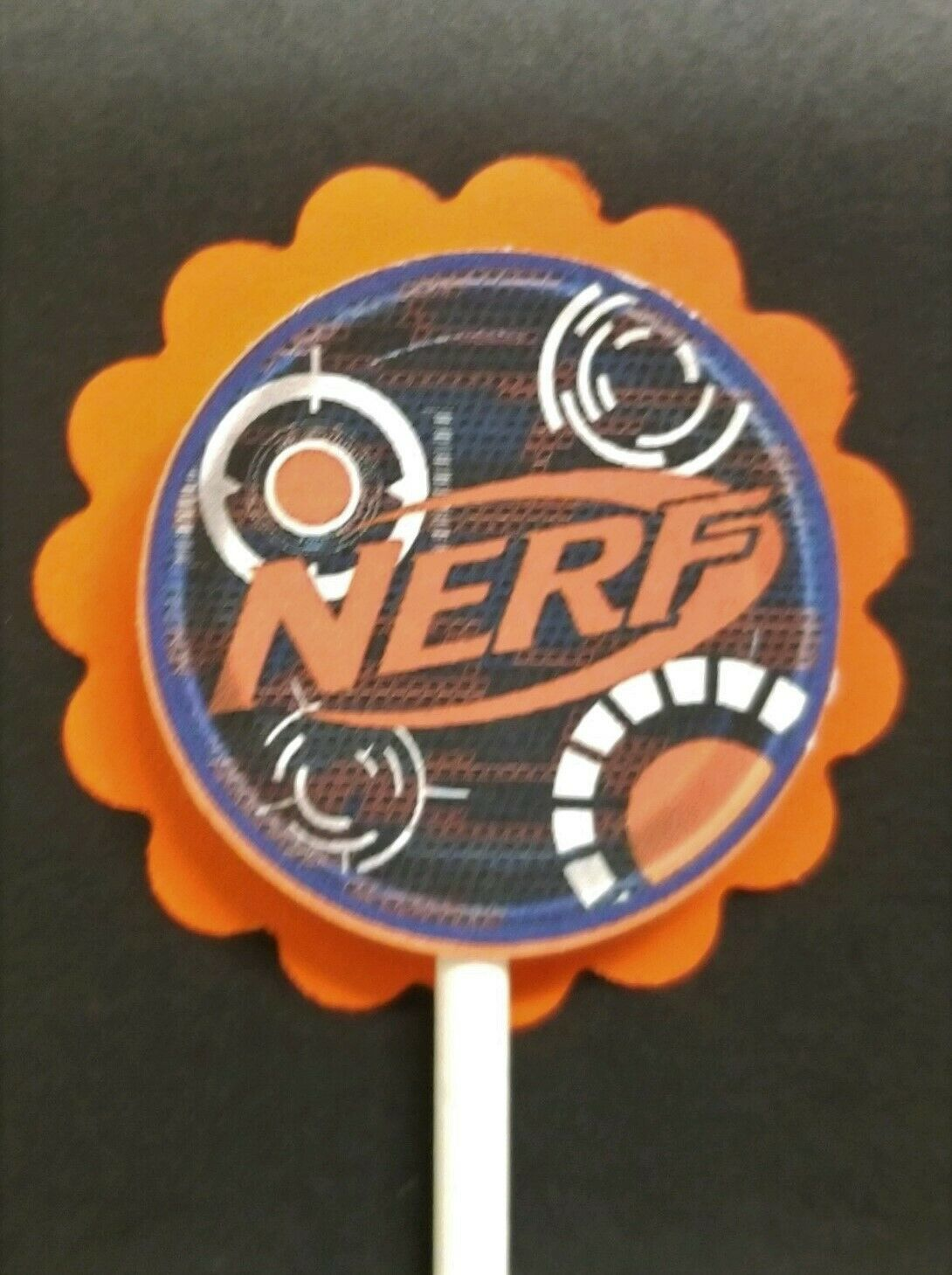 NERF Cupcake Toppers Set of 24