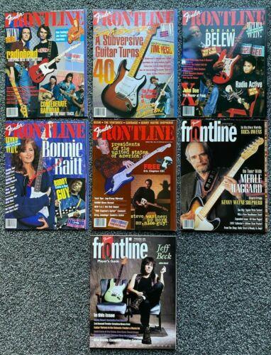 Fender Frontline- 7 Issues-Fall 93-July99-loads of FENDER Info, Pix, Mods, etc