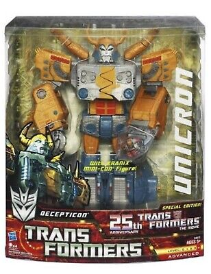 Transformers 25th Anniversary Unicron