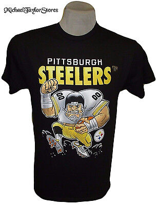 Pittsburgh Steelers Men's M, L, XL, 2XL Comic-Style Graphic T-Shirt NFL A14