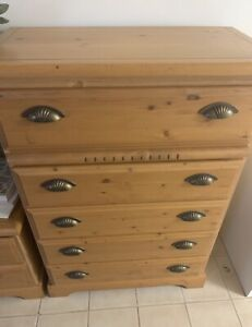 Dresser and Night table for sale