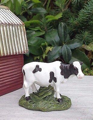 Miniature Dollhouse Fairy Garden   Country Farm Cow   New
