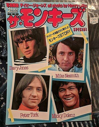 RARE!!! Japanese Deluxe Monkees Magazine