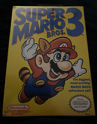 Super Mario Bros. 3 Nintendo Entertainment System 1990 BRAND NEW FACTORY SEALED