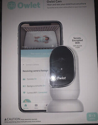 Owlet - Owlet Cam Wi-Fi Video Baby Monitor - New!! (CR)