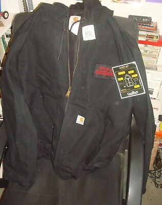 CARHARTT WORK JACKET W/ HOOD  X - LARGE for sale  Shipping to India