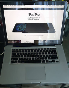 "2011 MacBook Pro 15"" with Upgrades!"
