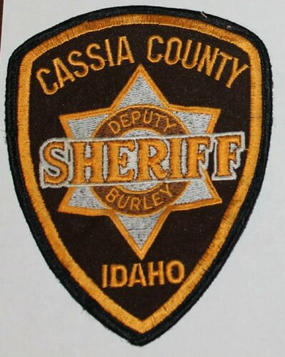 CASSIA COUNTY SHERIFF Idaho ID Co Deputy Burley SD SO Used Worn patch