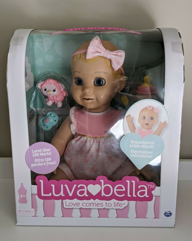 RARE Luvabella Responsive Baby Doll w/ Realistic Expressions & Movements