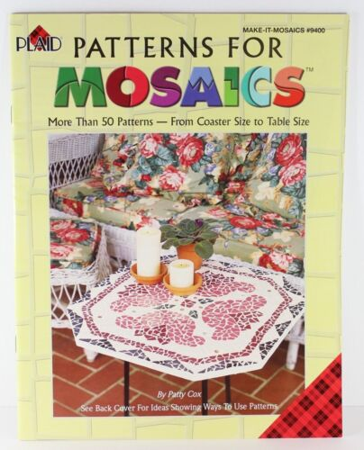 Plaid Patterns for Mosaics More than 50 Patterns Coaster to Table Size #9400