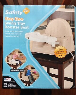 Safety 1st Swing Tray Booster Seat Cream for sale  Westmont