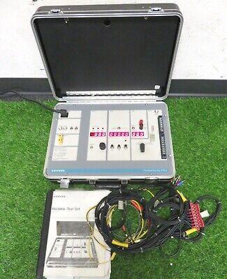 Siemens Pts-4 Portable Circuit Breaker Test Set