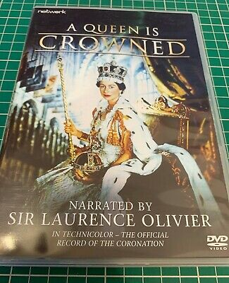 A QUEEN IS CROWNED DVD