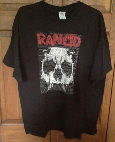 Rancid - Skull T-Shirt (2XL) Black