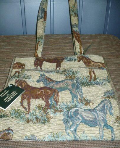 Horse Tapestry Bag