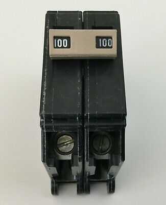 New Cutler Hammer Ch2100 100 Amp Double Pole 120240v Circuit Breaker