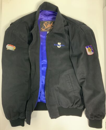 Babylon 5 Embroidered Logo with Army of Light  & Ranger Patches Sichel XL Jacket