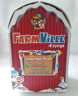 Farmville Plush Animal Ornament Unopened 2011 Unknown](Animal Ornaments)