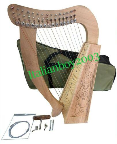 BeechWood 15 String Bady Lever Harp