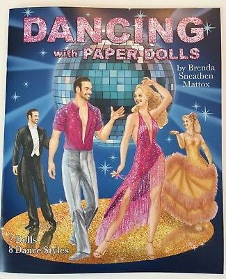 *NEW!* DANCING WITH STARS PAPER DOLLS - Dazzling Costumes for 8 dance styles!