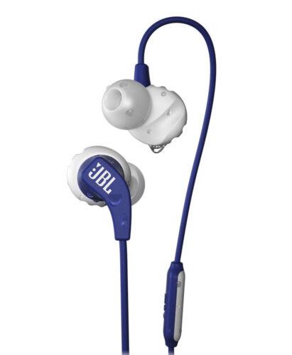 JBL Harman Endurance Run Sport Sweatproof, Fliphook In-Ear Headphones, Blue- New