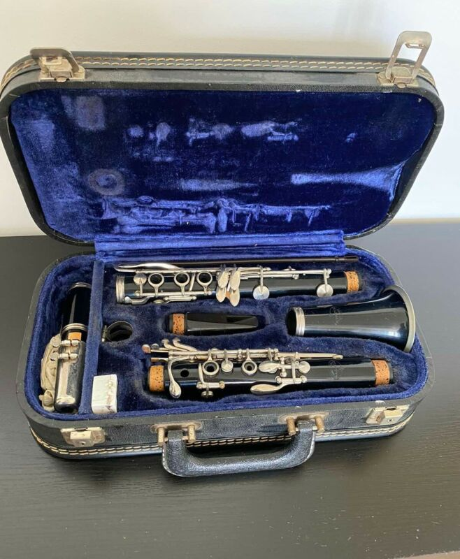 EVETTE by BUFFET Clarinet Made In Germany  Retro Vintage Rare With Case