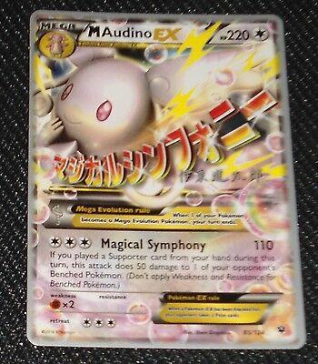 Mega Audino EX 85/124 World Championship NEAR MINT PROMO Pokemon Cards