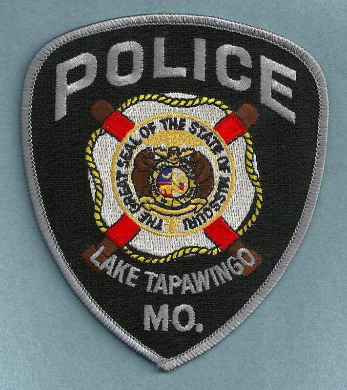LAKE TAPAWINGO MISSOURI POLICE SHOULDER PATCH