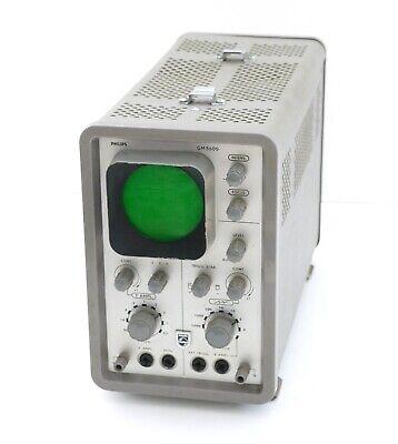 Philips Gm 5600 Vintage Pipe Oscilloscopeoscilloscope Full Operational