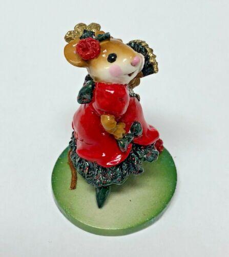 Wee Forest Folk CARMEN Spanish Dancer Mouse Retired M-258 2000-2004