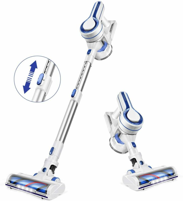 APOSEN Cordless Vacuum Cleaner, Upgraded Powerful Suction 4 in 1