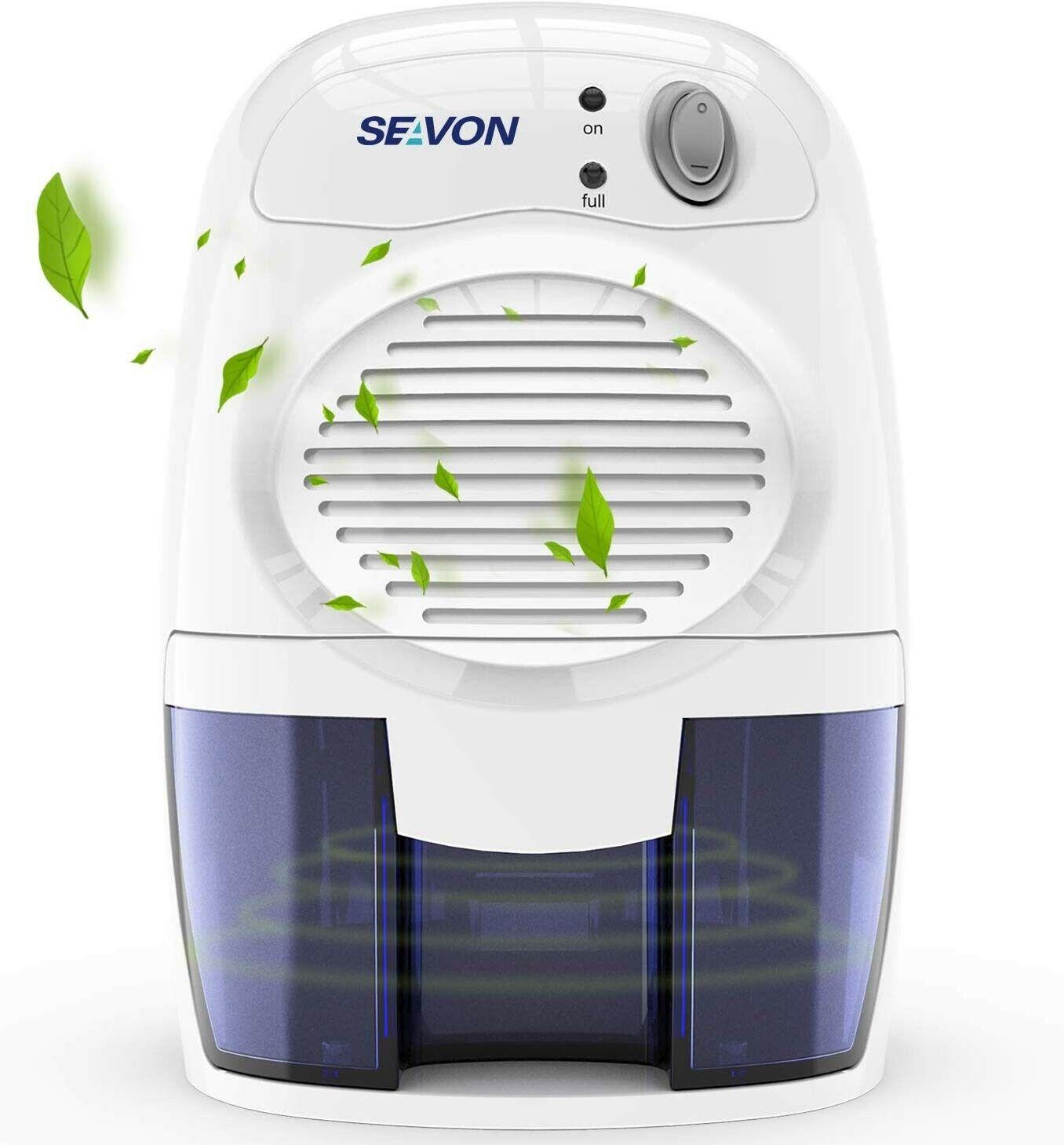 SEAVON New Electric 2020 Mini Dehumidifier, 1500 Cubic Feet