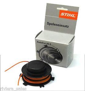 GENUINE STIHL SPOOL & LINE FITS AUTOCUT 25-2 FS55 FS80 FS85 FS87 4002 710 4313