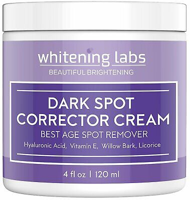 Dark Spot Corrector Best Dark Skin Age Spot Remover for Face Hands Body No