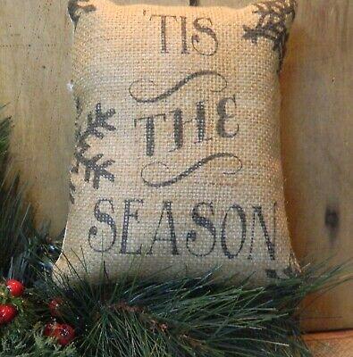 PRIMITIVE~ FOLK ART~ Christmas Pillow ()
