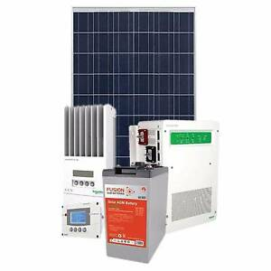 Home off grid solar kits w/ batteries -1.5 kW 10.5kWh stand alone Maroochydore Maroochydore Area Preview