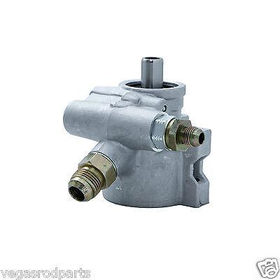 GM Type II Power Steering Pump natural/satin finish Raw Power Satin