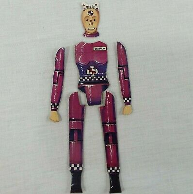Crash Test Game Replacement Dummy Body Parts Pink Darla Dummies Set 1992 Tyco