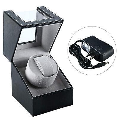 Automatic Rotation Single Watch Winder Watch Storage Display Box  Japan Motor