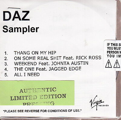 daz limited edition cd on Rummage