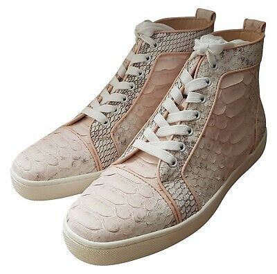 CHRISTIAN LOUBOUTIN Louis Orlato Python women's sneaker shoes US 11 FR 41 UK 8